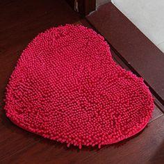 Gracallet® 15*19 Inch Hot Pink Fluffy Chenille/Anti-slip Microfiber Heart Shape Carpet/ Doormat /Floor Rug/ Living Room /Bedroom / Bathroom/Kitchen Area Rug Carpet/Bath Mat/Shower Rug/Shower Mat/Bathmat/Bath Rug/Bath Mat/Shower Rug/Shower Mat/Bathmat/Bath Rug Gracallet http://www.amazon.com/dp/B00Q9MIGUO/ref=cm_sw_r_pi_dp_qxamwb14KW8C6