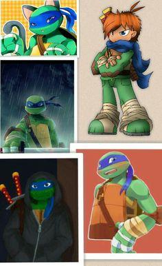 Leo Collage Tmnt 2012, Ninja Turtles Art, Teenage Mutant Ninja Turtles, Tmnt Leo, What Is Like, Funny Cute, Fangirl, Nerd, Poems