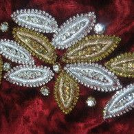 Embroidery Handwork patch 4462