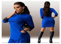 Available Sizes :S;XL Bust(cm) Waist(cm) Hip(cm) Length(cm) Sleeve Length(cm) Type :Slim Material :Dacron Color :Blue Pattern :Patchwork Collar :Collarless Length Style :Above Knee Sleeve Length :Three Quarter Length Sleeve Party Dresses For Women, Casual Dresses For Women, Clothes For Women, Blue Dresses, Summer Dresses, Different Dresses, Mini Dress With Sleeves, Slim, Women's Fashion Dresses