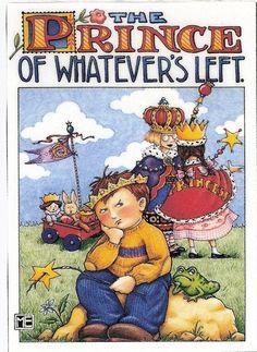 Prince of Whatever's Left Toy Wagon Frog Wand Fridge Magnet Mary Engelbreit Art | eBay