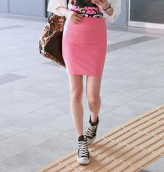 Buy 'REDOPIN – Elastic-Waist Miniskirt' with Free International Shipping at YesStyle.com. Browse and shop for thousands of Asian fashion items from South Korea and more!