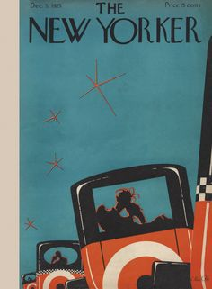 The New Yorker - Saturday, December 5, 1925 - Issue # 42 - Vol. 1 - N° 42 - Cover by : Max Rée
