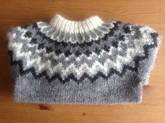 Made to order. Icelandic sweater, for 6 8 10 12 year old, unisex, sweater, jumper, lopapeysa, Icelandic wool, handmade, - pinned by pin4etsy.com