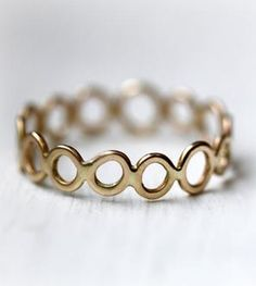 Gold Circles Band