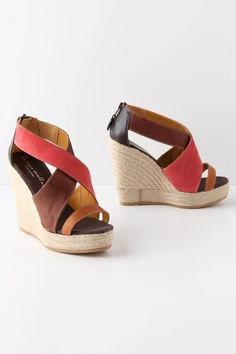 color block wedges. yes & yes.