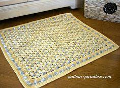 Crochet BathMat Paradise. [Free Pattern] | Styles Idea