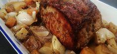 gluténmentes receptek: egyben sült karaj sütőzacskóban sütve Pork, Kale Stir Fry, Pork Chops