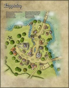 village town maps map rpg fantasy medieval location dnd tabletop cartographers guild layout villages dragons dungeon plan cartographersguild towns pathfinder