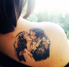 Gone with the wind tattooo