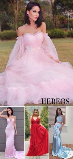 All Sizes & Colors. Tap for More. Pretty Prom Dresses, Pink Wedding Dresses, Homecoming Dresses, Cute Dresses, Bridesmaid Dresses, Girls Dresses, Wedding Gowns, Dress Up, Ball Gown Dresses