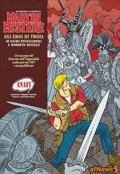 L'ANAFI A LUCCA COMICS & GAMES CON UN MARTIN MYSTÈRE INEDITO - http://www.afnews.info/wordpress/2015/10/27/lanafi-a-lucca-comics-games-con-un-martin-mystere-inedito/