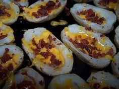 Dutch Oven Madness!: Day 172: Baked Potato Skins