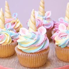 Oh hey – welcome along to the Cupcake Jemma channel. I'm Jemma and I run Cru… Oh hey – welcome along to the Cupcake Jemma channel. I'm Jemma and I run Crumbs & Doilies, a London-based purveyor of awesome cakes and cupcakes, and every w… Unicorne Cake, Cupcake Cakes, Cupcake Piping, Buttercream Cupcakes, Cupcake Frosting, Vanilla Cupcakes, Cupcake Jemma, Rose Cupcake, Unicorn Cupcakes Toppers
