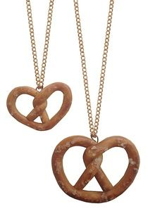 Toasty Pretzel Necklaces
