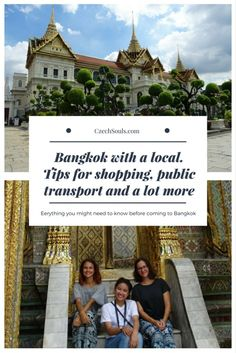 Bangkok with a local. Tips for shopping, public transport and a lot more – CzechSouls.com Bangkok Shopping, Visit Thailand, Public Transport, Transportation, Tips, Advice