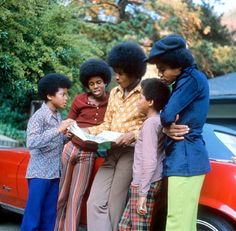 The Jackson 5 launch a fashion line 'J5 Collection'