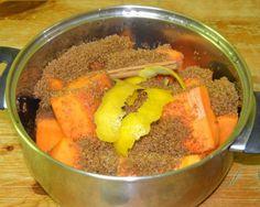 Mermelada de calabaza casera ~ Recetario en Familia ~ Madredetres © Tostadas, Carrots, Food, Easy Meals, Tasty Food Recipes, Breakfast, Sweets, Deserts, Cooking