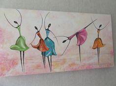 Peinture acrylique, tableau contemporain, tableau moderne, décoration maison,  cadeaux