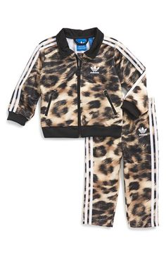 adidas+'Firebird'+Track+Suit+(Baby+Girls)+available+at+#Nordstrom