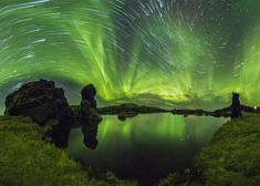 The Ultimate Aurora Borealis: A staggering time-lapse video of the northern lights shot over five weeks in Iceland.
