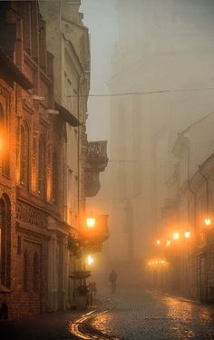 Vilnius, the capitol of Lithuania. Find out more about Lithuania's fascinating… Autumn Aesthetic, Aesthetic Photo, Mellow Yellow, Mists, Places To See, Street Photography, Beautiful Places, Scenery, Around The Worlds