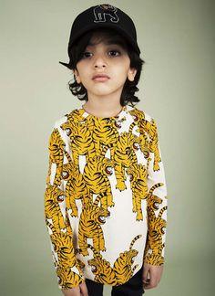 fräulein & matrose Kids Online Boutique: Bengal Tiger Mini Rodini A/W 2015/16