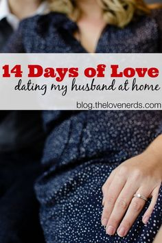 14 Days of Love {Dating My Husband at Home} - You don't need to go out to have fun! I'm sharing 14 easy home date ideas that we will enjoy in February. There are frugal date ideas, too, because dating my partner doesn't have to break the bank either! Print out the FREE printable and even make a surprise date night game out of it! {The Love Nerds}