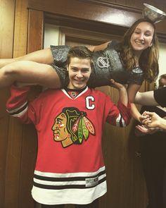 Hockey couple costume