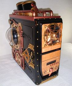 steampunk case argos mod ultimate gaming  pc