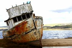 Rusty Boat- where is this? Let's go see it ;)