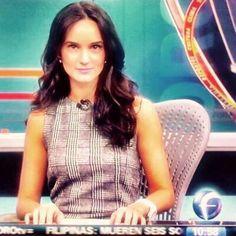 Claudia Torres conductora de noticias FOROtv