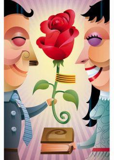 Los caballeros regalan rosas... y las princesas, ¡libros!