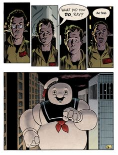 my favorite scene in the movie! GHOSTBUSTERS Geek Art Collection - News - GeekTyrant