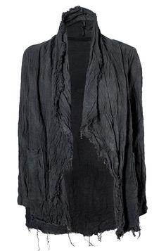 Visions of the Future: Ovate   Hand dyed linen hemp jacket via Orimono
