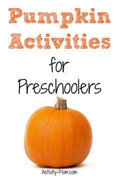 Pumpkin activities that preschoolers will love. Pumpkin printable games and pumpkin sensory play. Preschool activities and crafts for Fall. Fun Halloween Crafts, Halloween Activities For Kids, Crafts For Kids, Preschool Classroom, Preschool Activities, Pumpkin Printable, Fun Learning, Sensory Play, Games