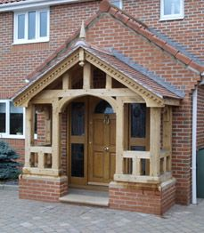 Guiding entrance porch design try this site Porch Canopy, Door Canopy, Porch Swing, Veranda Design, Porch Kits, Front Porch Design, Building A Porch, Vestibule, House With Porch