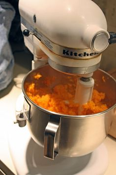 Mashed Sweet Potatoes - So good! Made with vanilla almond milk and agave necatar. YUM