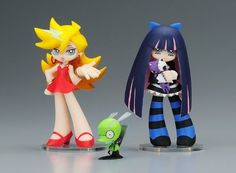 phatcompany Panty & Stocking with Garterbelt with Chuck Twin Pack Puls Figure #phatcompany