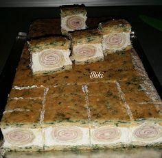 Slane minjon kocke s palacinkama Appetizer Recipes, Appetizers, Serbian Recipes, Torte Cake, Small Meals, Potato Recipes, Catering, Side Dishes, Food And Drink