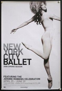 new york city ballet posters vintage - Vintage Poster Designs Old Movie Posters, Cool Posters, Vintage Posters, Ballet Posters, Dance Posters, Vintage Ballet, Ballet Companies, City Ballet, Online Posters