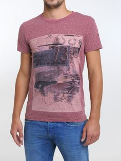 Pepe Jeans t-shirt rood PM501243