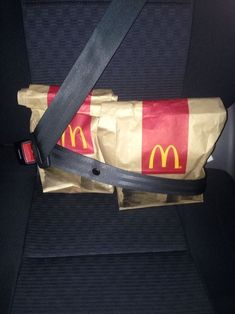 """Just hold on we're going home"". Something I would do, have to protect my McDobald's =)"