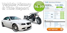 Compare instaVIN to CARFAX or AutoCheck & save! Salvage & VIN Check Reports start at $1.99 & Vehicle History & Title Reports are just $6.99. Only instaVIN uses NMVTIS government data from the Department of Justice www.vehiclehistory.gov . Vehicle data is streamed in real-time giving you the most up-to-date information you need. Only instaVIN gives you data on Motorcycles & RV's, as well as Classic Cars.