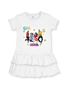 The Fresh beat Band Toddler T Shirt  dress by CustomEdibleToppers,