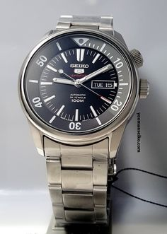 Fine Watches, Cool Watches, Seiko 5 Watches, Tough Times Dont Last, Seiko Mod, Orient Watch, Men Accesories, Seiko Diver, Omega Watch