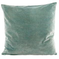 Pillow satin pouch dust of Green House Doctor for pillow Green Throw Pillows, Green Cushions, Velvet Cushions, Throw Cushions, Accent Pillows, House Doctor, Childrens Cushions, Green Home Decor, Interiors Online