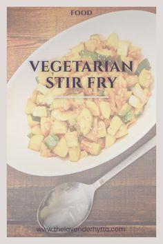 Vegetarian | Stir Fry | Vegetarian Stir Fry | Food | Entree | Side Dish | Fresh | Food via /lavenderhytta/
