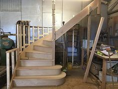 Bullnose and curves for lower steps