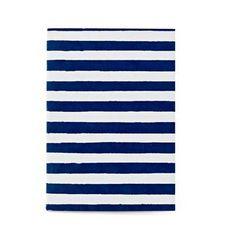 Handblock Stripe Journal